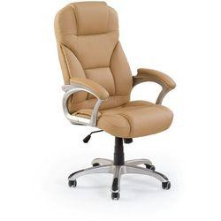 Fotel gabinetowy obrotowy HALMAR DESMOND beżowy -ZŁAP RABAT: KOD50
