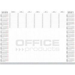 Podkładka na biurko OFFICE PRODUCTS, planer 2020/2021, biuwar, A2, 52 ark.
