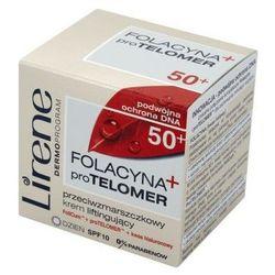 Lirene Folacyna + pro TELOMER 50+ krem na dzień 50ml