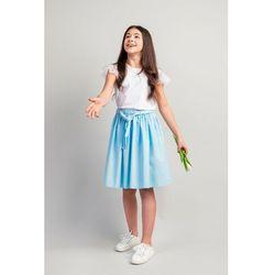Spódnica dziewczęca -niebieska 4Q4001 Oferta ważna tylko do 2031-06-11