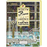 """Książki dla dzieci, Książka """"Detektyw Pierre w labiryncie. Na ratunek..."""" wydawnictwo Nasza Księgarnia 9788310131676"""