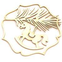 Ozdoby świąteczne, Dekoracyjny scrap - wigilijna gałązka - WGG