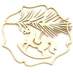 Dekoracyjny scrap - wigilijna gałązka - WGG