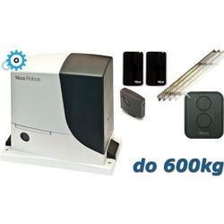 NICE ROBUS 600 SET do 600kg zestaw automatyki - 5mb listwy zębatej