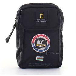 National Geographic EXPLORER mała saszetka / etui / N01102.06 - czarny