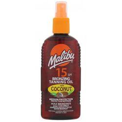 Malibu Bronzing Tanning Oil Coconut SPF15 preparat do opalania ciała 200 ml dla kobiet