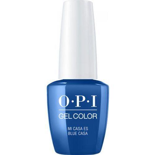 Akryle i żele, OPI GelColor MI CASA ES BLUE CASA Żel kolorowy (GCM92)