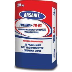 Zaprawa klejowa ARSANIT THERMA+ TH-03 do styropianu i zatapiania siatki