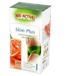 Herbata eksp. BIG ACTIVE Slim Plus odchudzanie 20t