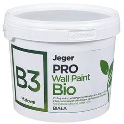 Farba wewnętrzna PRO WALL PAINT BIO 2.5 l Biała JEGER