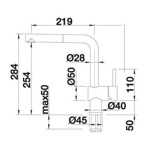 Baterie do kuchni, Bateria Blanco Linus -s 516712