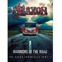 Pozostała muzyka rozrywkowa, WARRIORS OF THE ROAD - THE SAXON CHRONICLES (BLU-RAY+CD) - Saxon (Płyta DVD)