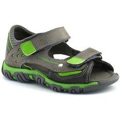 Sandały dla dzieci Kornecki 06189 - Zielony ||Szary