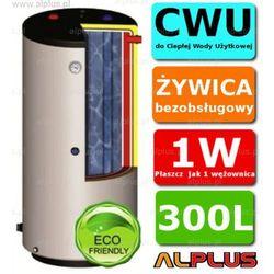 ERMET 300l pionowy dwupłaszczowy bojler do CWU - podgrzewacz wymiennik bezobsługowy - WYSYŁKA GRATIS