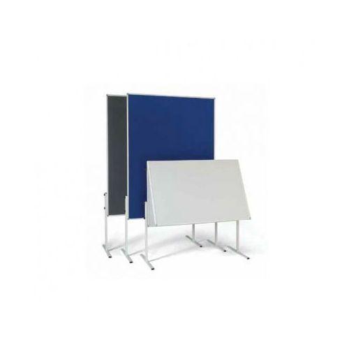 Oznakowanie informacyjne i ostrzegawcze, Tablica informacyjno - prezentacyjna, tekstylna, niebieska, składana