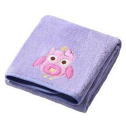 BabyOno Ręcznik kąpielowy frotte 140x70: Kolor - Fioletowy