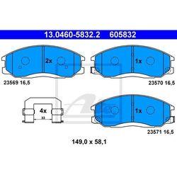 KLOCKI HAM ATE 13.0460-5832.2 HYUNDAI SANTA FE 2.0CRDI 4X4 01-, 2.2CRDI, 2.7 05-