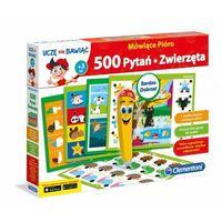 Puzzle, Mówiące Pióro 500 Pytań Zwierzęta