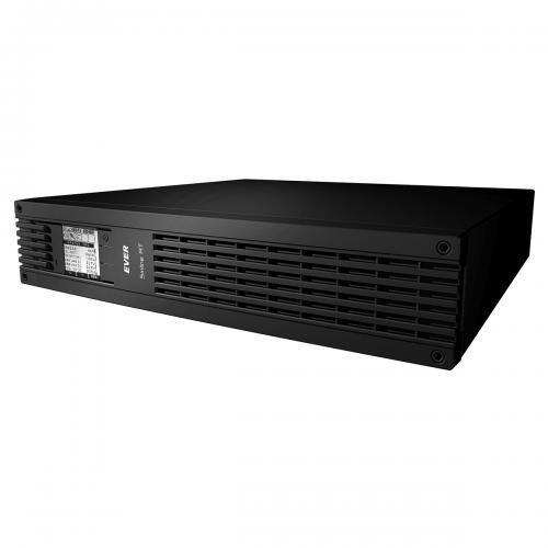 UPSy, Zasilacz awaryjny UPS Ever Sinline RT 1000VA/650W Tower/Rack 2U + port komunikacji RJ45 (SNMP)