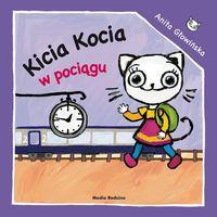 Książki dla dzieci, Kicia Kocia w pociągu (opr. miękka)