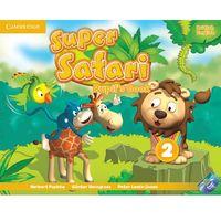 Książki do nauki języka, Super Safari Level 2 Pupil's Book With DVD ROM*natychmiastowawysyłkaod3,99 (opr. miękka)