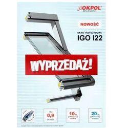 Okno dachowe OKPOL IGO I22 78x140 - WYPRZEDAŻ MODELU!