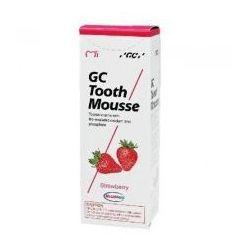 GC Tooth Mousse bez fluoru o smaku Truskawkowym 35 ml