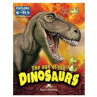 Książki do nauki języka, The Age of the Dinosaurs Poziom 5 +DigiBook - Evans Virginia, Dooley Jenny (opr. miękka)