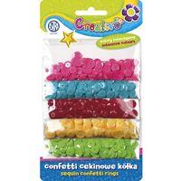 Kreatywne dla dzieci, Konfetti cekinowe - kółka - Astra