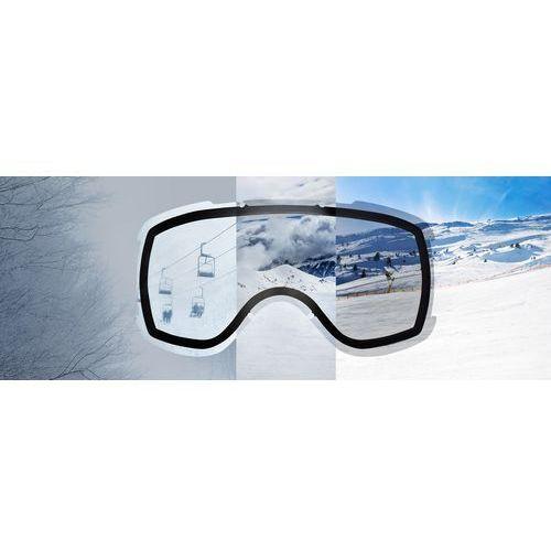 Kaski i gogle, UVEX downhill 2000 VP X Gogle czarny Gogle narciarskie