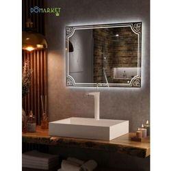 Lustro z oświetleniem ledowym do łazienki: ALISA-15