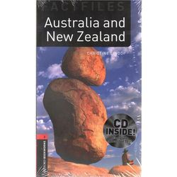 Australia And New Zealand + CD The Oxford Bookworms Library Factfiles Stage 3 (1000 Headwords) (opr. miękka)