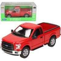 Osobowe dla dzieci, WELLY Ford F-150 Regilar Cab czerwony