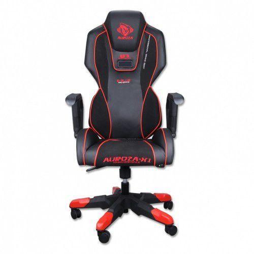 Fotele dla graczy, Fotel E-BLUE Auroza 311 X1 E-Sport Czarno-czerwony