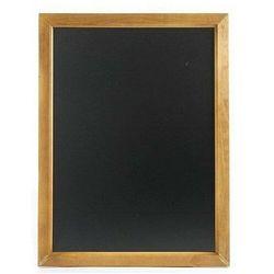 Hendi OUTLET - Tablica menu ścienna z drewniana ramą | 400x600mm - kod Product ID