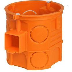 Puszka podtynkowa Simet 60mm głęboka z wkrętami pomarańczowa /110szt./ S60DFw 33069008