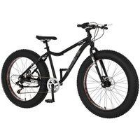 """Pozostałe rowery, Rower INDIANA Fat Bike 26"""" 7S Czarny + 5 lat gwarancji na ramę! + DARMOWY TRANSPORT!"""