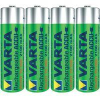 Akumulatorki, 4 x akumulatorki Varta Ready2use R6 AA Ni-MH 2100mAh