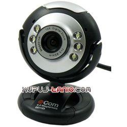 Kamera internetowa e-Com 5 MPx (czarno-srebrna)