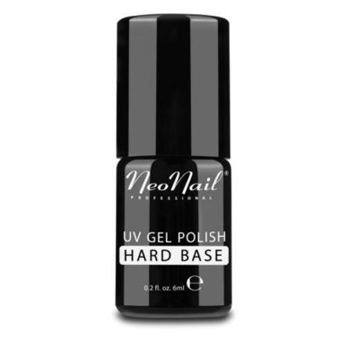 Podkłady i bazy do paznokci, NeoNail HARD BASE Baza do lakieru hybrydowego (7,2 ml)