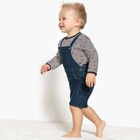 Bluzki dziecięce, Wzorzysta koszulka niemowlęca z długim rękawem - 1 mieiąc - 3 lata