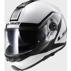 KASK LS2 FF325 STROBE CIVIK WHITE BLACK