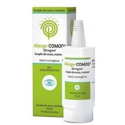 ALLERGO-COMOD Krople do oczu 20mg/ml 10ml