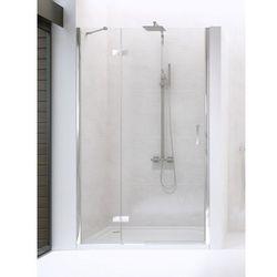 NEW RENOMA Drzwi prysznicowe 80x195 LEWE, szkło czyste + Active Shield D-0095A * wysyłka gratis