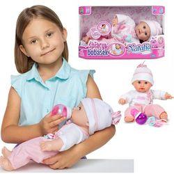 Lalka Natalia bobas usypiający 35 cm