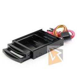 Gembird Kieszeń rack 2 dyski HDD/SSD 2.5''