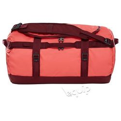 Torba podróżna The North Face Base Camp Duffel S II - cayenne red / regal red