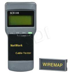 A-LAN Tester okablowania LCD MT-8108 NI022 Darmowy odbiór w 21 miastach!