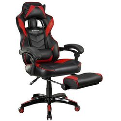 Fotel TRACER Gamezone Masterplayer Czarno-czerwony