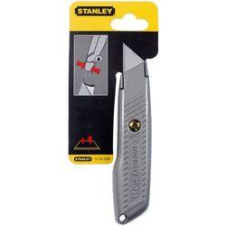 STANLEY Nóż 299 metalowy lekki 136mm, ostrze stałe, 3 ostrza zapasowe 10-299